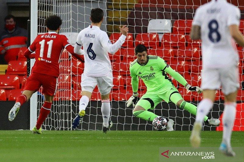 Liga Champions - Real Madrid ke semi final usai imbangi Liverpool di Anfield