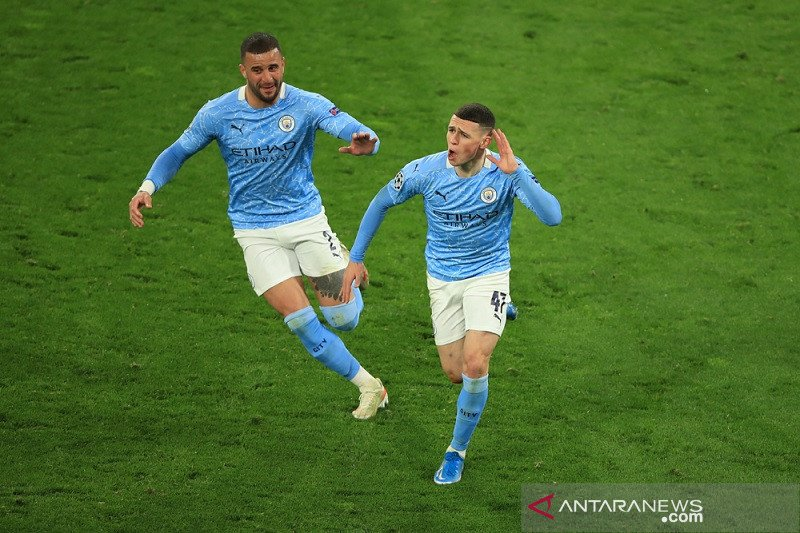Liga Champions - City kembali pecundangi Dortmund untuk melenggang ke semifinal
