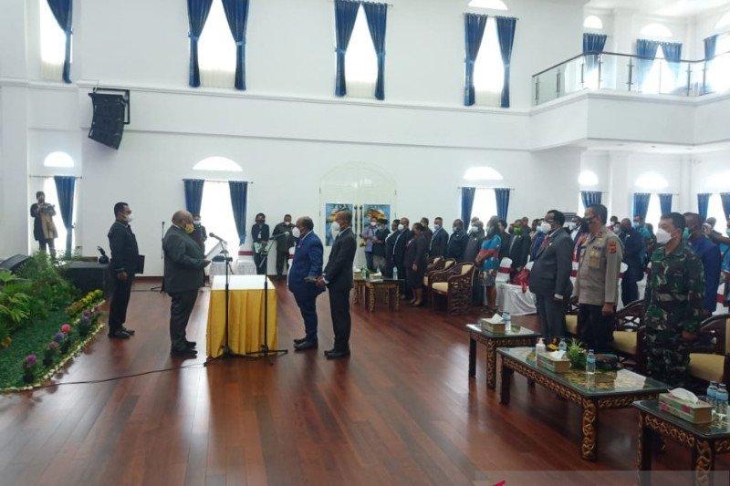 Pemprov Papua sahkan pengangkatan Yoel Mulait jabat Wakil Ketua I MRP