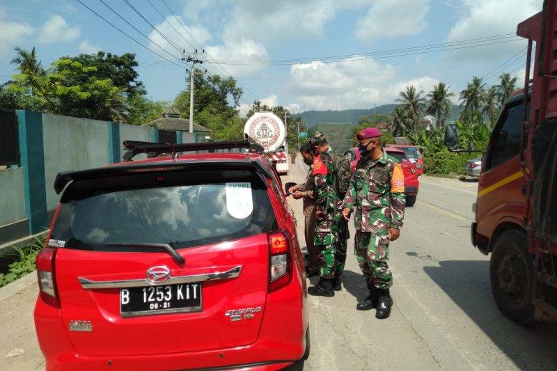 Satgas COVID-19 Bandarlampung catat 192 kendaraan luar Lampung diberhentikan