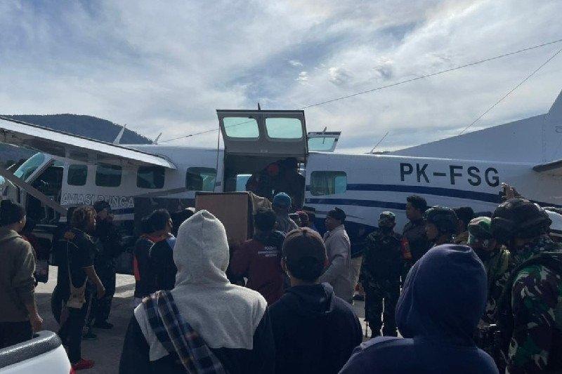 Jenazah tukang ojek korban penembakan di Kabupaten Puncak akan dibawa ke Makassar