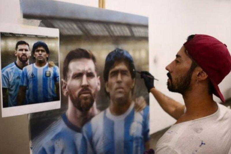 Messi sumbang 50.000 vaksin COVID-19 untuk pesepak bola Amerika Selatan