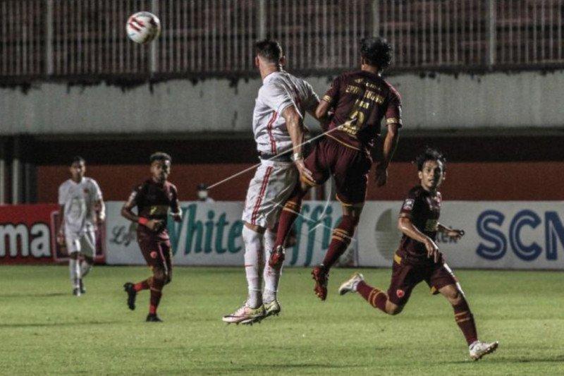 Laga Persija kontra PSM Makassar berakhir imbang 0-0