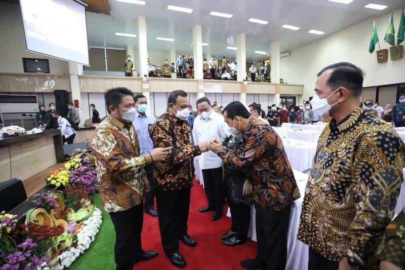 17 bupati dan wali kota di Sumatera Selatan  komitmen dukung KPK