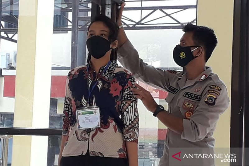 Penerimaan Anggota Polri di Banggai  terapkan Prokes