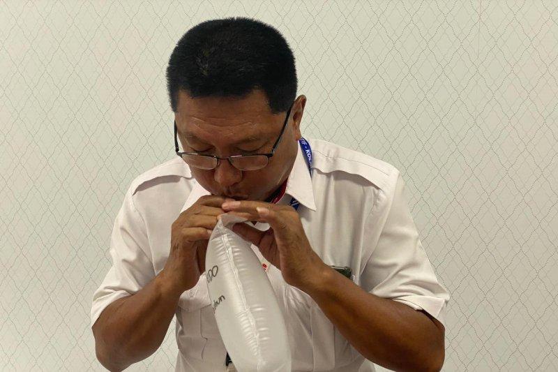 PT HK Ruas Bakter lakukan tes GeNose C19 kepada seluruh karyawan