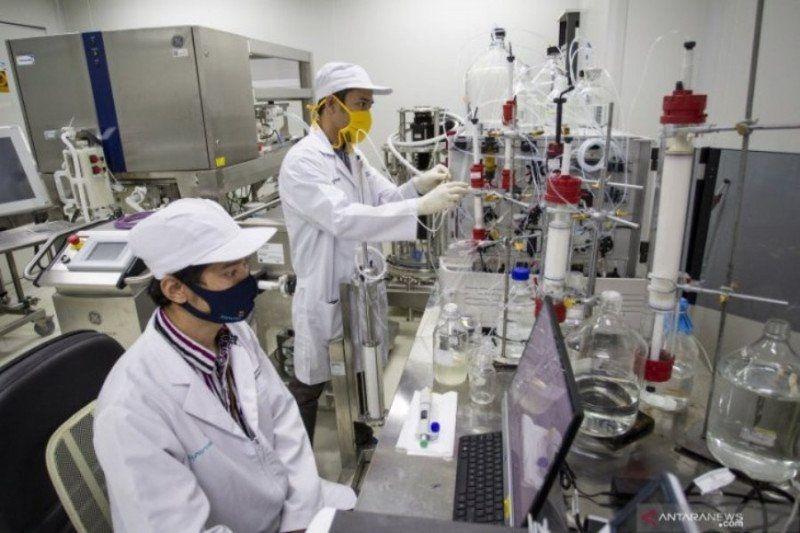 Pemerintah janji akan terus kembangkan Vaksin COVID Merah Putih