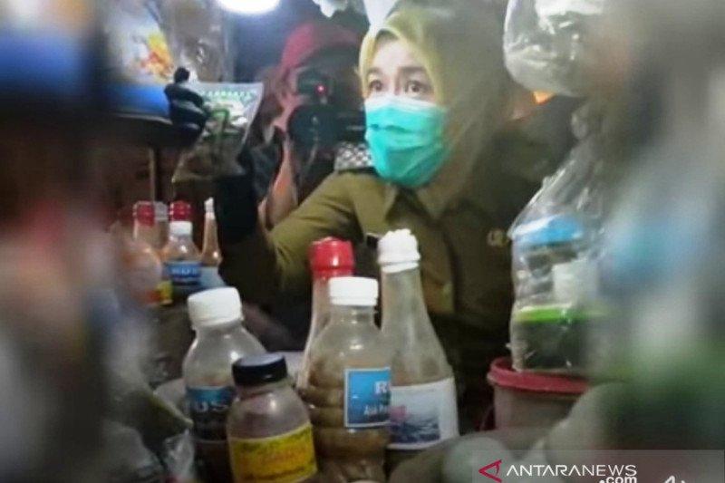 Pemkot Palembang inspeksi pasar untuk menjamin stok pangan