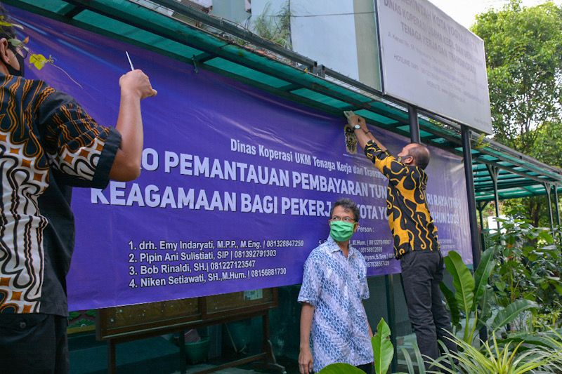 Legislatif Kota Yogyakarta meminta pengusaha bayarkan THR tepat waktu