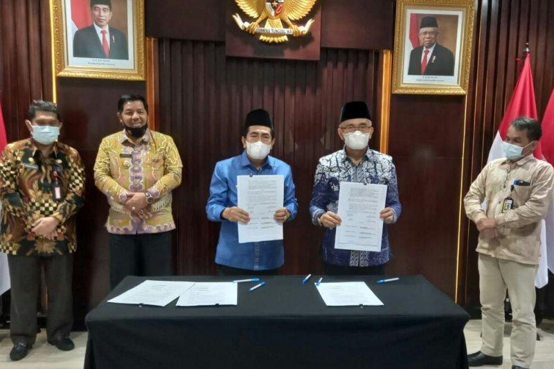 KPK fasilitasi penyerahan aset Pemkab Kerinci ke Pemkot Sungai Penuh, Jambi
