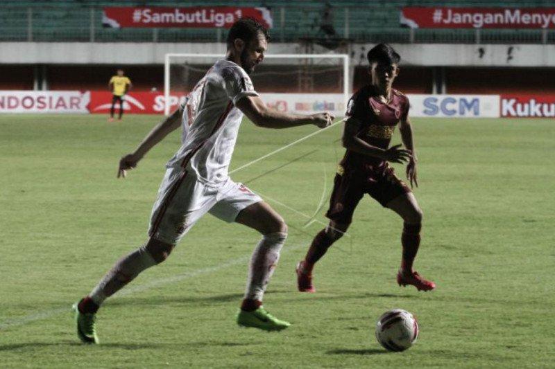 PSM Makassar puas dengan hasil seri melawan Persija