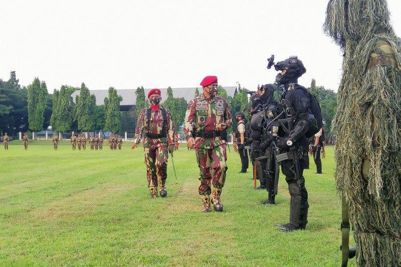 Peringatan HUT ke-69 Kopassus tanpa adanya parade militer