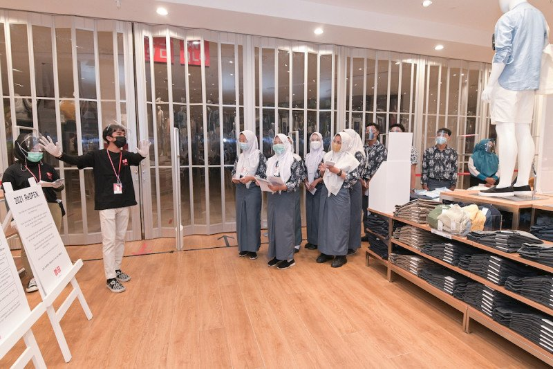 Uniqlo bagikan pengalaman berbisnis ritel ke pelajar Palembang
