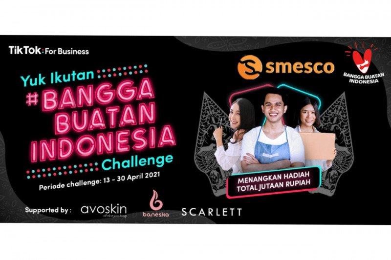 SMESCO gaet TikTok semarakkan Gernas Bangga Buatan Indonesia