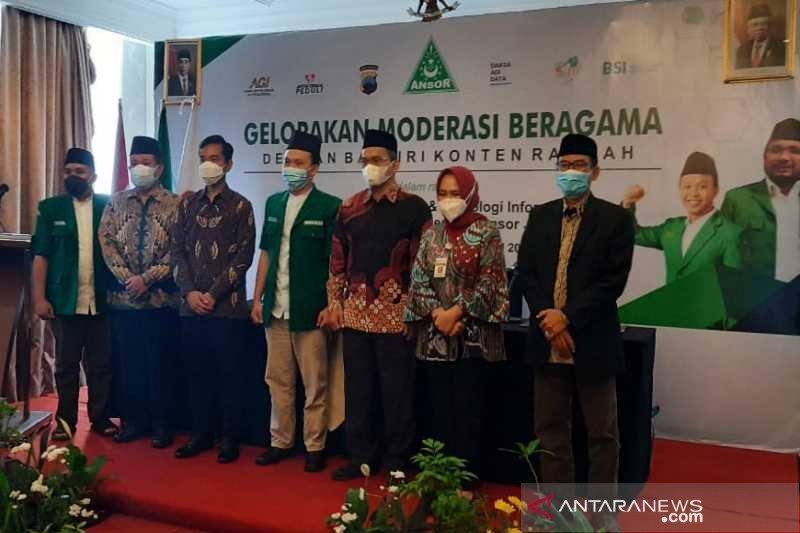 """GP Ansor Jateng serukan  """"Gelorakan Moderasi Beragama"""""""