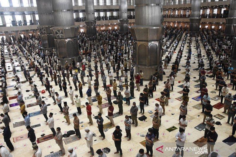 Masjid Istiqlal kembali buka untuk Shalat Jumat pekan ini