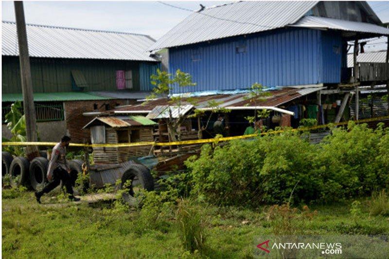 Penggerebekan terduga teroris di Makassar