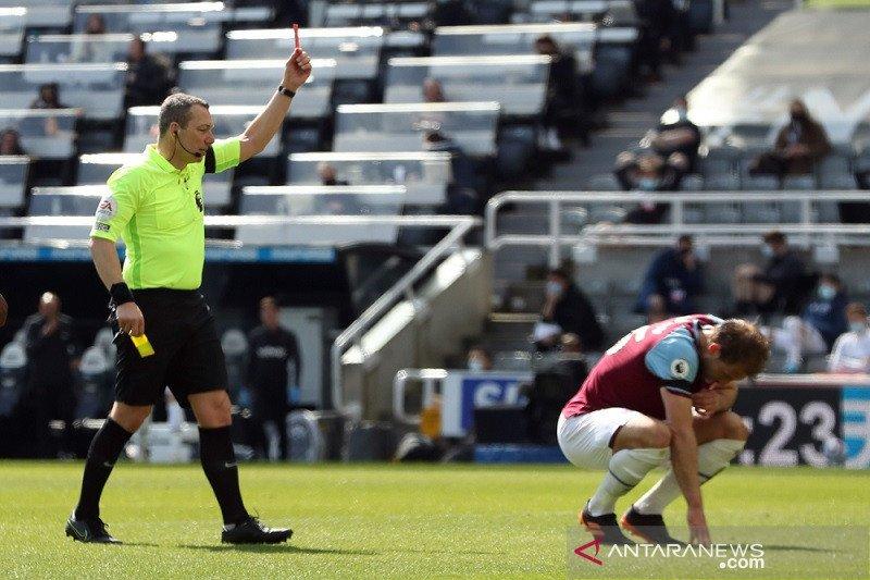 Newcastle ganggu ambisi West Ham ke Liga Champions musim depan