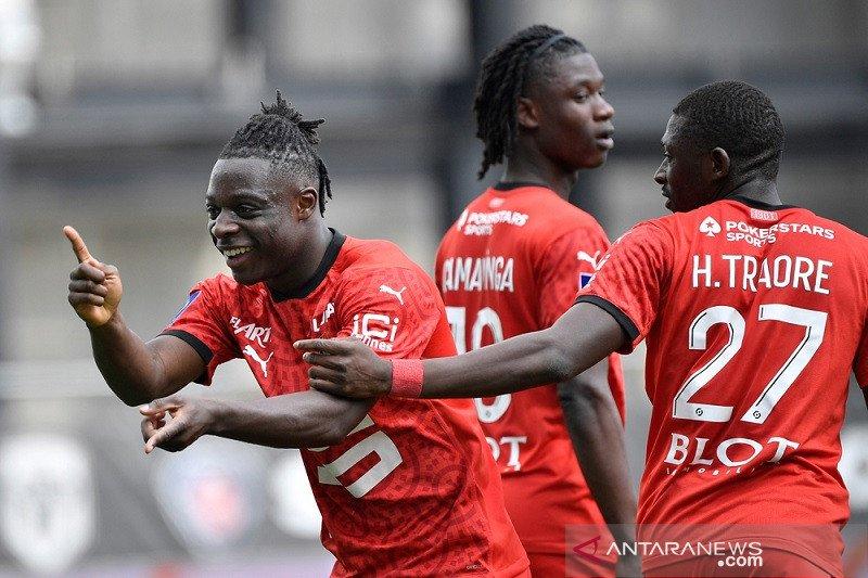 Rennes kembali mendekati zona Eropa seusai menang di Angers