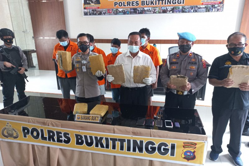 Polisi ungkap jaringan pengedar narkoba di Lapas Biaro Bukit Tinggi