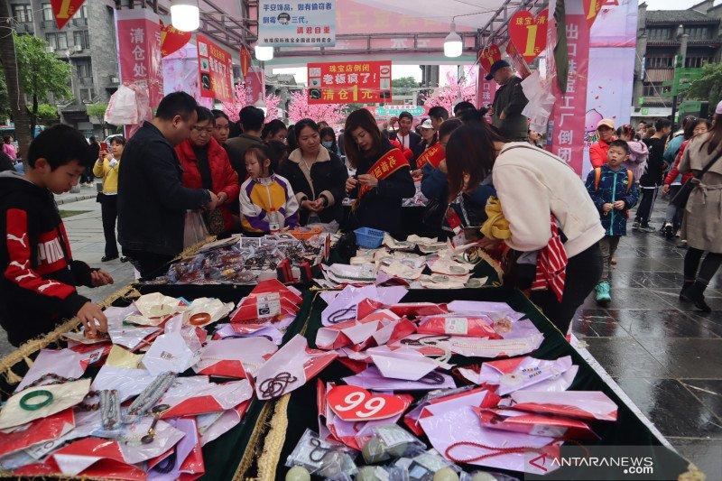 Ekonomi China tumbuh 18,3 persen pada kuartal pertama 2021