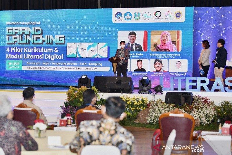 Kemkominfo luncurkan Gerakan Nasional Literasi Digital sasar 12,4 juta warga