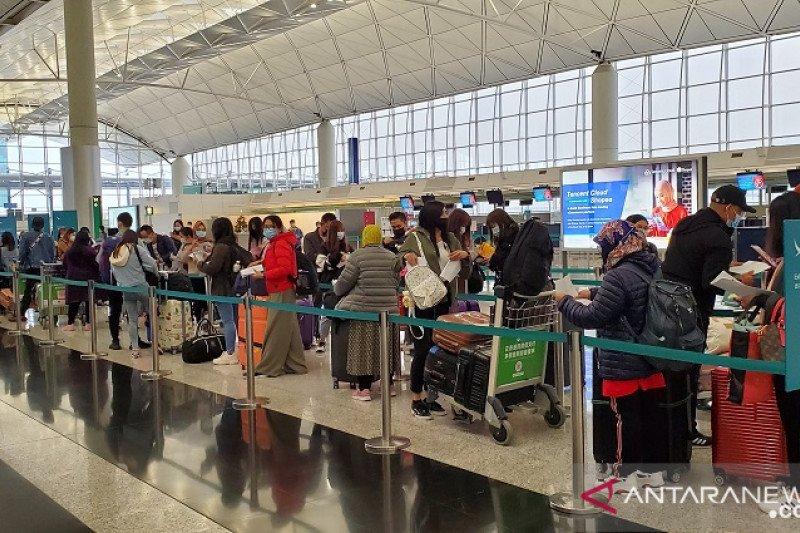 Sebanyak 93 WNI dipulangkan dari Makau