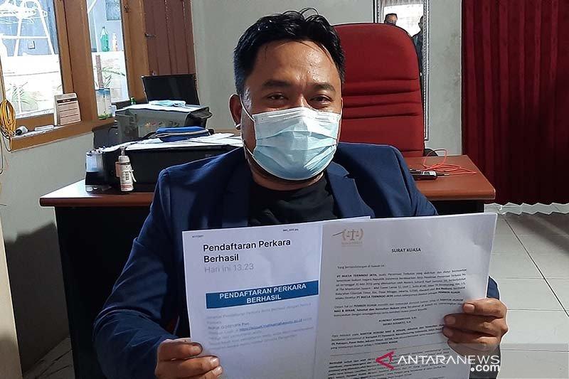 Pengusaha di Purwokerto digugat wanprestasi atas bisnis kelapa
