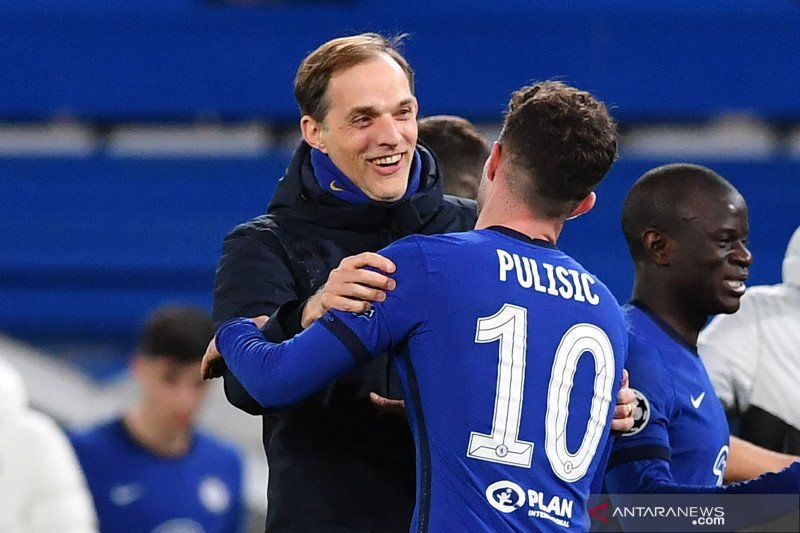 Thomas Tuchel sangat bangga pada pemain Chelsea yang berhasil singkirkan City
