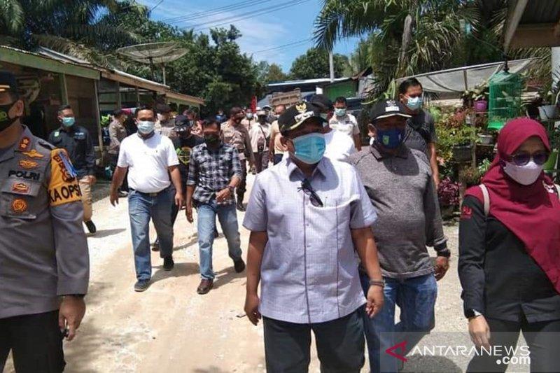 Bupati Inhu tinjau lokasi PSU di Desa Ringin