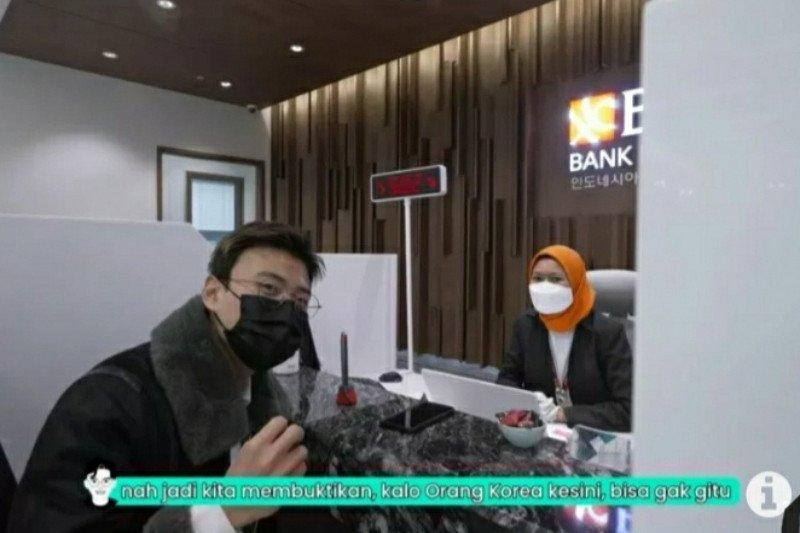 Youtuber Jang Hansol sambangi BNI Seoul