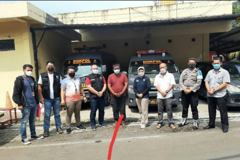 Anggota Bid Dokkes Polda Lampung sempat telantar di Merak, jalani pengobatan di RSJ