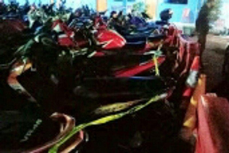 Satlantas Polres Bitung amankan 21 sepeda motor knalpot bising