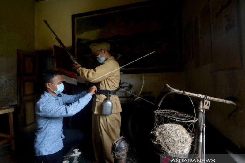 Warga Padang Pariaman dirikan museum perang