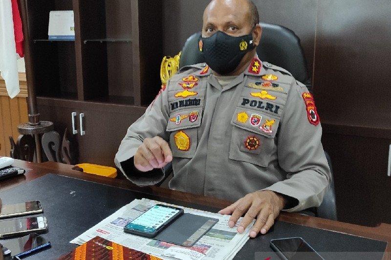 Bripka HW ditangkap karena membawa 21 butir amunisi ke Intan Jaya