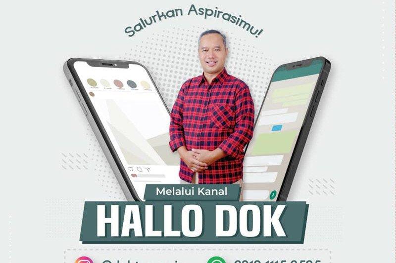 """Wali Kota Magelang buka """"Hallo Dok"""" untuk warga sampaikan unek-unek"""