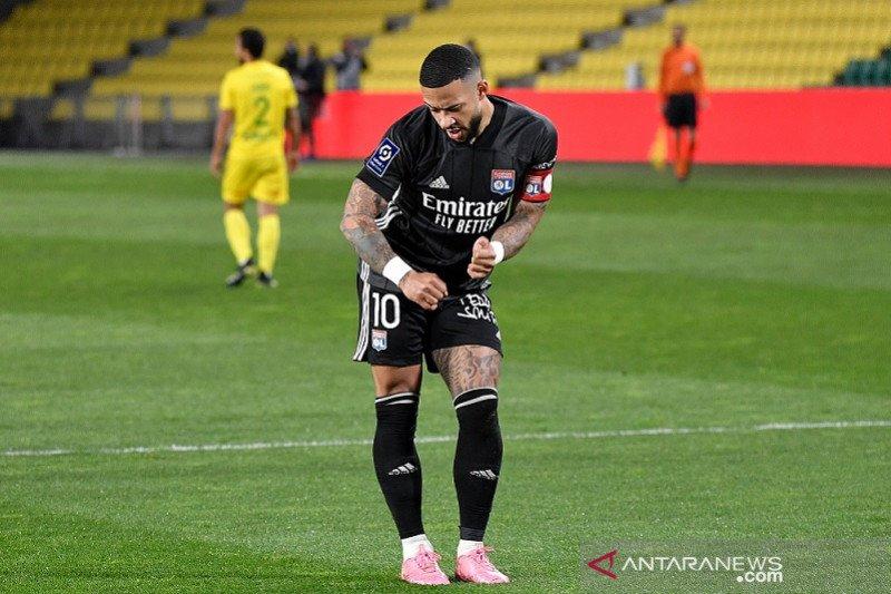 Lyon dekati puncak selepas bekuk Nantes 2-1