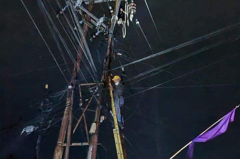 PLN Suluttenggo cepat normalkan jaringan listrik akibat cuaca ekstrem