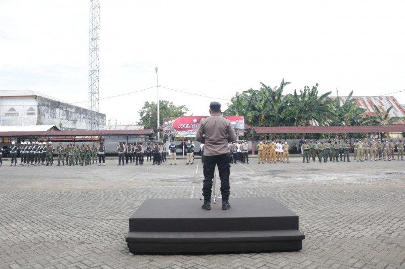 Polda Sulut gelar pasukan dalam rangka penertiban PETI