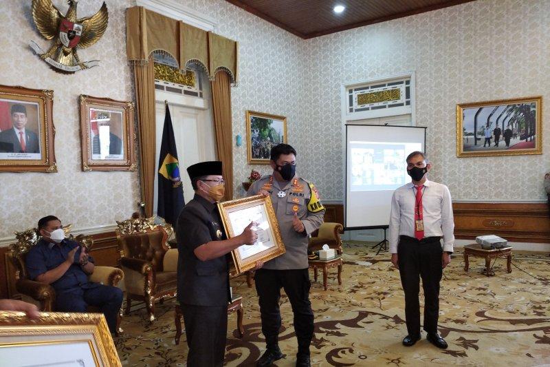Pemkab berikan penghargaan untuk Kapolres dan Kasatnarkoba