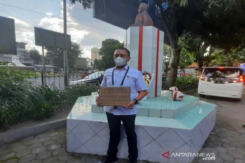 HUT ke-91 PSSI, Iriawan kunjungi Balai Persis Solo