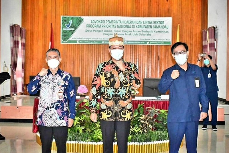 Pemkab Lamandau dukung implementasi tiga program nasional terpadu