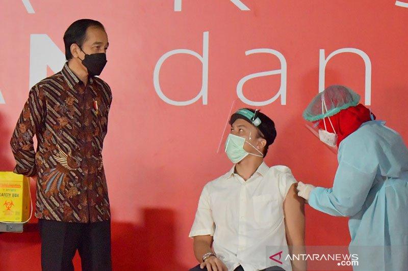 Presiden Jokowi dukung penelitian COVID-19