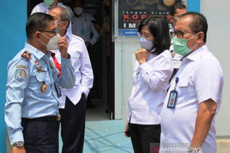 Imigrasi Palembang perkuat zona integritas pelayanan paspor