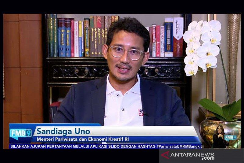 Menteri Sandiaga: Indonesia  urutan tiga dunia  sumbangan PDB dari ekonomi kreatif