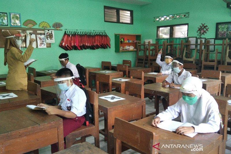 8 SD di Kudus gelar simulasi pembelajaran tatap muka
