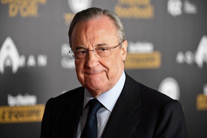 Bos Real Madrid angkat bicara soal Liga Super Eropa dan Liga Champions