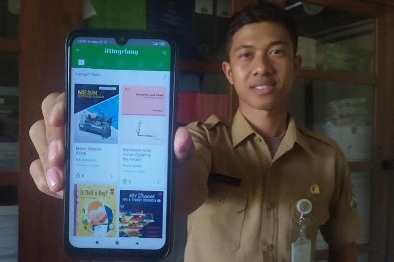 4.420 e-book dapat diakses lewat aplikasi iMagelang