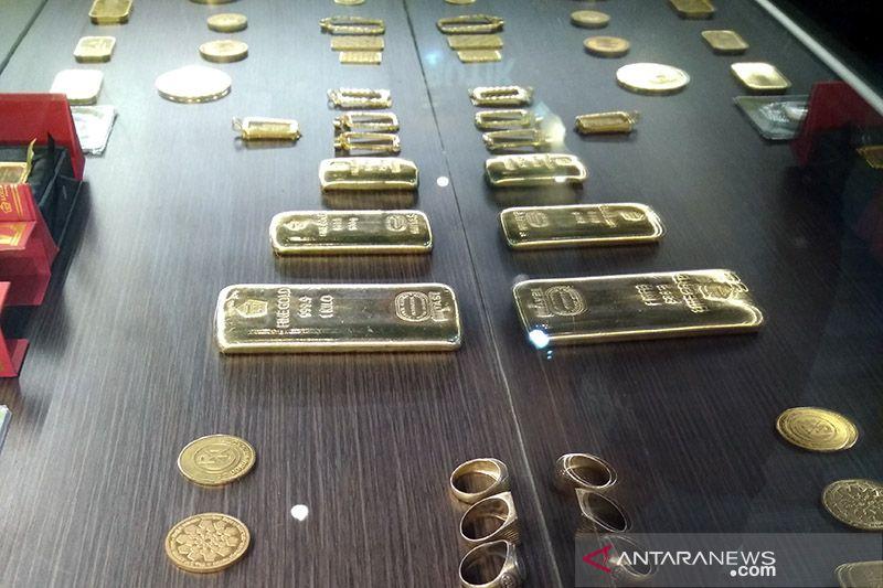 Harga emas jatuh 11,1 dolar AS tertekan kenaikan unit AS