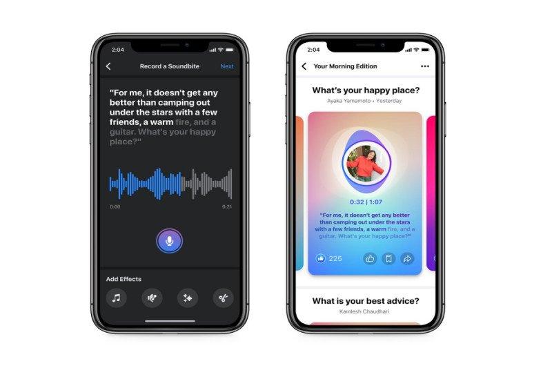 Facebook akan hadirkan fitur podcast dan Soundbites